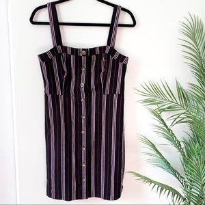 Hollister | Pin Stripe Buttondown Dress